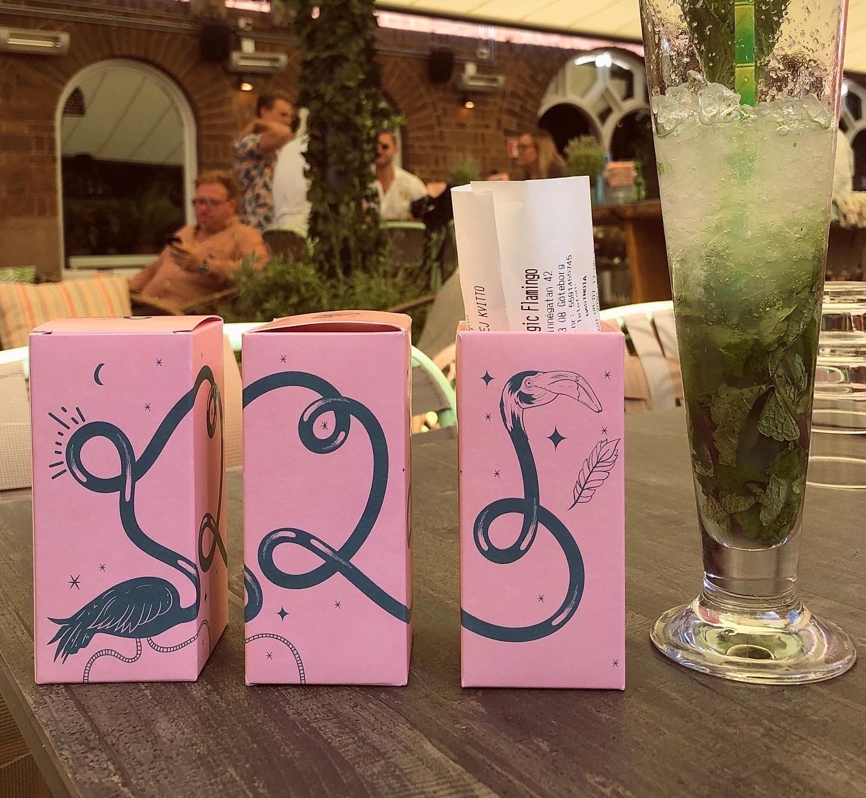 Fun Packaging With Magic Flamingo