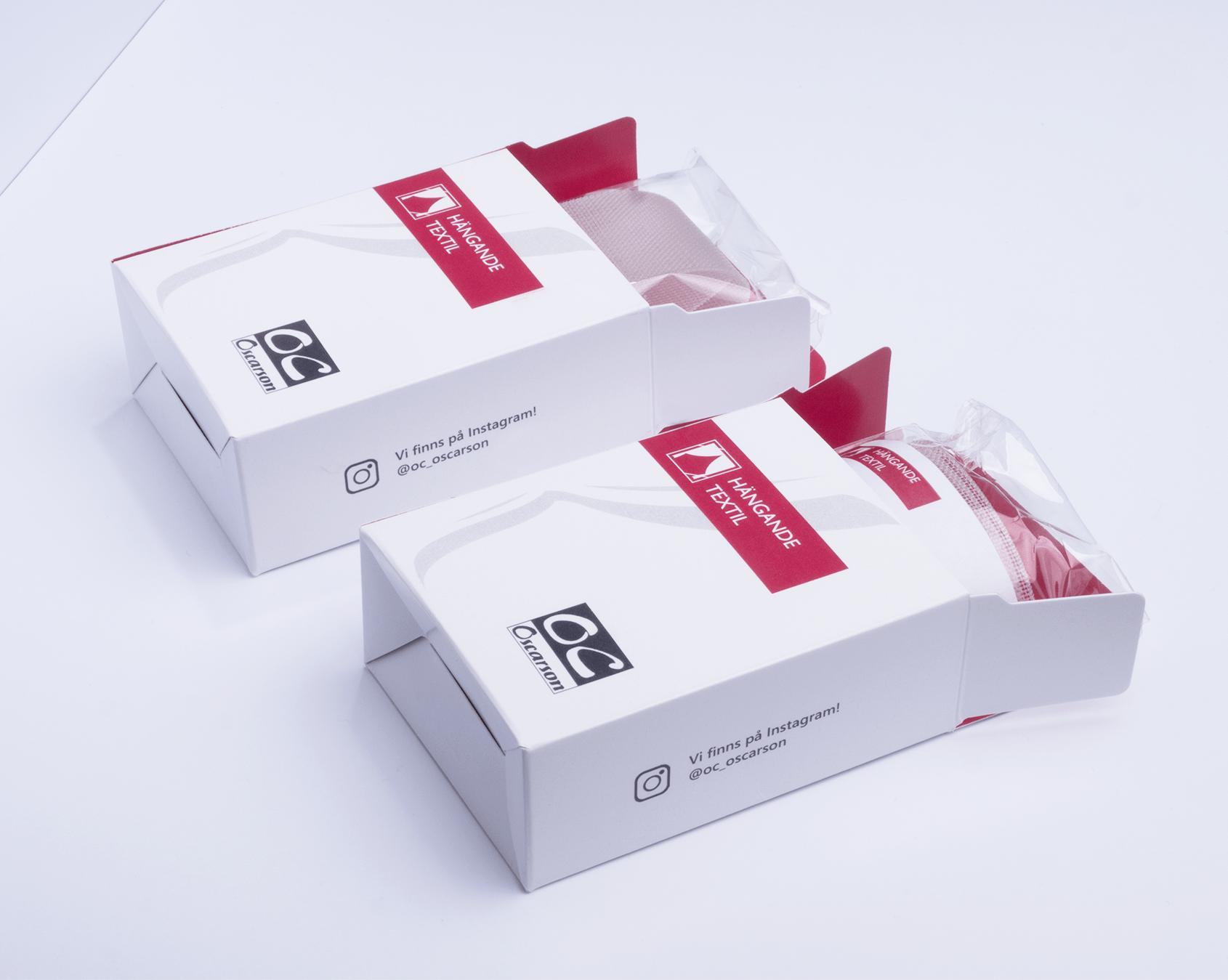Produktförpackning för varuprover